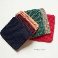 Knitted pocket squares - Men's suit accessories - Teens' pocket squares