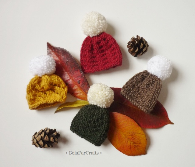 Choose any 3 hats - Goody bag fillers - Fall decorations - Xmas tree toppers
