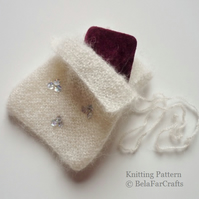KNITTING PATTERN - Luxury Gift Bag - Intermediate knitting