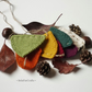 Autumn bunting - Fall colours decorations - Fall wedding garland