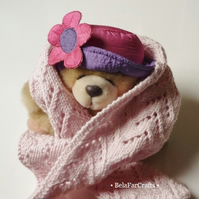 OFFER - Doll accessories - Stuffed toys scarf - Lacy shawl for dolls