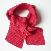 Cotton scarf for kids - Eco friendly neck scarf - Children's knitwear