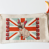 French Bulldog Pencil Case Union Jack London
