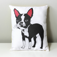 Boston Terrier Mini Cushion