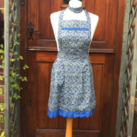 Liberty Fabric  Apron, Apron , Ladies Apron, Liberty of London Fabric Apron,