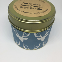 NutCracker  Scented Soy Candle, Christmas Candle