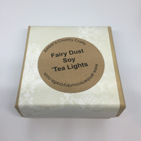 Fairy Dust Soy Tea Lights