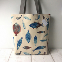 Tote Bag - Fish - Nautical