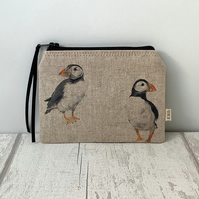 Coin Purse -Puffins - Puffin