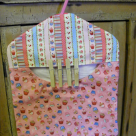 Peg bag in multi cupcake print