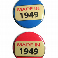 70th birthday badge seventieth birthday pin 70 years old gift