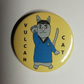 Vulcan cat Spock badge Star Trek trekkies cat pin