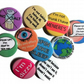 Menieres badge set 10 meniere's disease awareness pin badge set