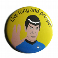Star Trek Spock mirror man pocket mirror