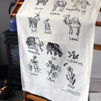 Tea towel - Fabulous Fibre