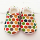 ORGANIC Birch DOTTIE Boys Girls Slipper Pram Shoes Slippers BABY GIFT IDEA 0-18M