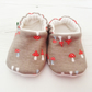 ORGANIC Mona Luna SHROOMY Slippers Pram Shoes NEW BABY GIFT IDEA 0-18M