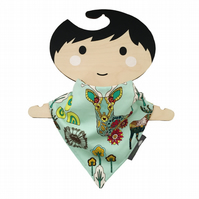 Bandana Dribble Bib Handmade Art Gallery Utopia Dreamland NEW BABY GIFT IDEA