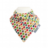 ORGANIC Baby Bandana Dribble Bib in DOTTIE - An ECO GIFT IDEA from BellaOski