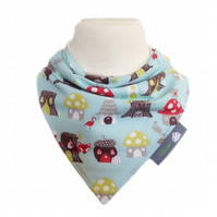ORGANIC Baby Bandana Dribble Bib in WOODLAND FOX - ECO GIFT IDEA from BellaOski