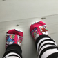 BELLAOSKI Handmade Pink CAMPERVAN Slippers Pram Shoes Baby GIFT IDEA Size 3-6m