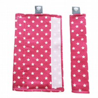 Stroller Strap Covers pushchair covers for M&P, iCandy, Stokke, Bugaboo, Graco