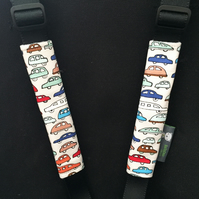 Stroller Strap Covers, pushchair covers for Bugaboo, M&P, Quinny, Stokke, CUSTOM