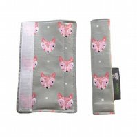 Stroller Strap Covers, pushchair covers 4 M&P, Quinny, Graco, Stokke, Bugaboo