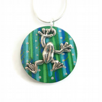 Frog Necklace, Frog Jewellery