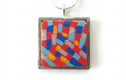 Abstract Painting Necklaces