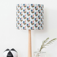Pirate Ship Blue Lampshade Small 20cm