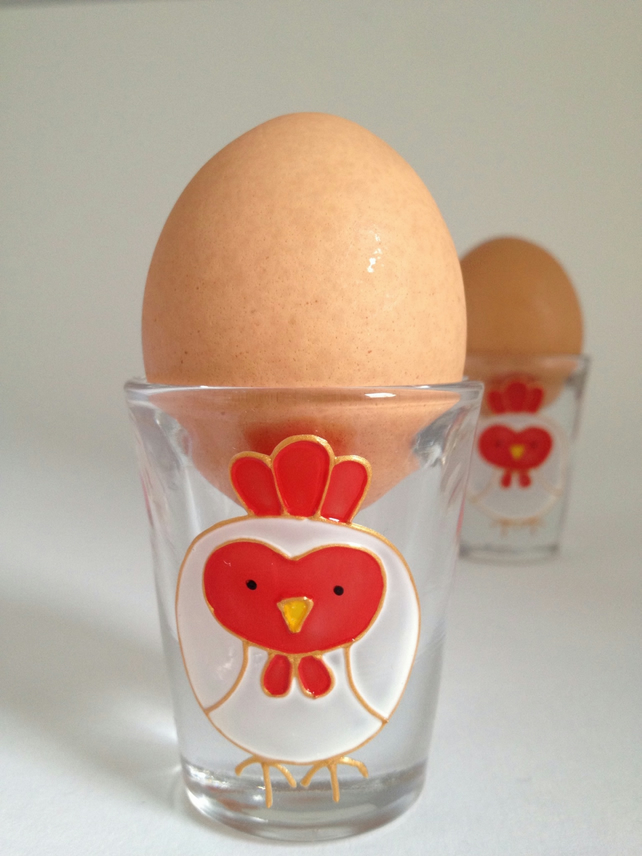 Pair of Chicken egg cups