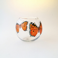 Tortoiseshell Butterfly candle holder