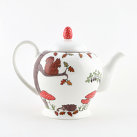 Woodland Friends Teapot