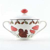 Woodland Friends Sugar Bowl