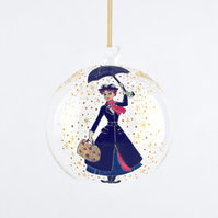 Mary Poppins Hanging Tea Light Bauble