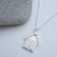 Mini Beach Hut Pendant