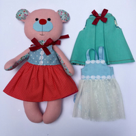 Teddy Bear - Cotton Teddy Bear - Dress up bear
