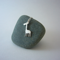 Giraffe necklace, animal jewellery, cute animals, giraffe pendant