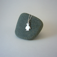 Penguin necklace, delicate jewellery, animal jewellery, animal gifts