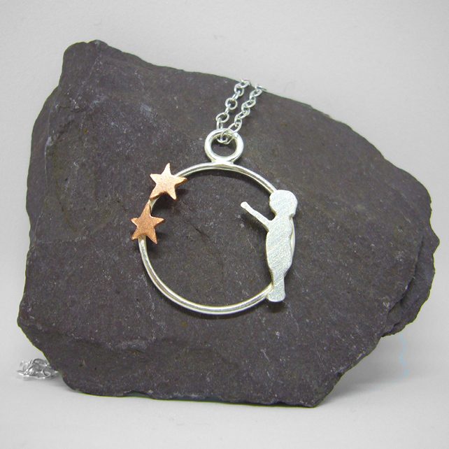 Stars necklace, gift for mum, delicate jewellery, star jewellery