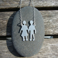 children necklace, personalised jewellery, unique gift