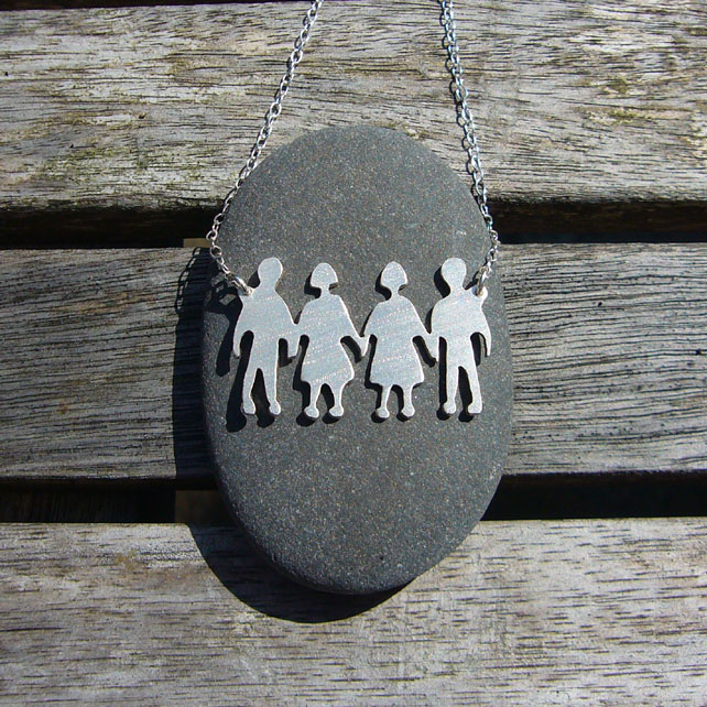 Sterling silver children necklace
