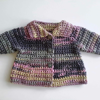 Stunning bamboo and cotton baby girl coat. 0-6 months