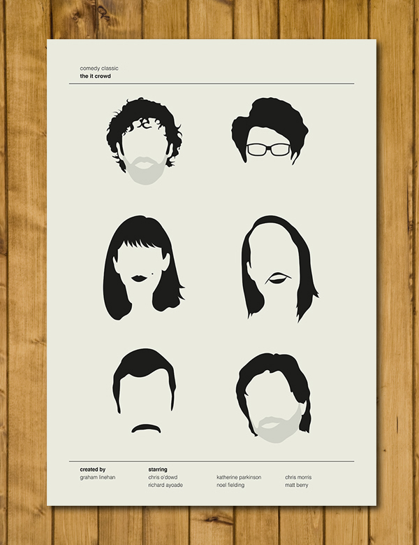 The IT Crowd - Comedy Classics Poster - A3 (420 x 297mm)