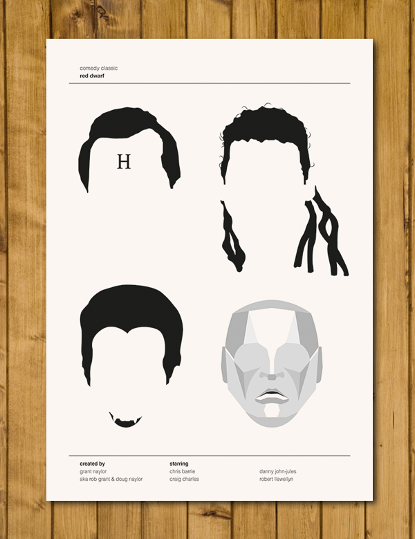 Red Dwarf - Comedy Classics Poster - A3 (420 x 297mm)