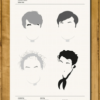 Father Ted - Comedy Classics Poster - A3 (420 x 297mm)