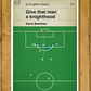 England goal v Greece - David Beckham last minute free kick - Football Poster A3