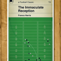 "Pittsburgh Steelers - The Immaculate Reception - Poster (11x17"" or A3)"