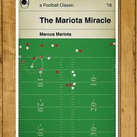 "Tennessee Titans - The Mariota Miracle - Marcus Mariota - Poster (11x17"" or A3)"
